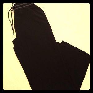 Black Walking Fitness Pants by Avon Size M